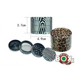 Dohányőrlő CHAMP Animal Skin 4 részes 50 mm 40506128