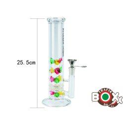 Bong üveg CHAMP Prémium 26 cm Színes mintás 40506147