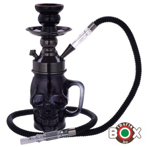 Vizipipa CHAMP Prémium Egycsöves Koponya Fekete 30 cm 40508015
