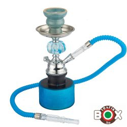 Vízipipa CHAMP AL MALIK, SIDIBENNOUR Egycsöves 26,5 cm Kék 40508032