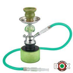 Vízipipa CHAMP AL MALIK, SIDIBENNOUR Egycsöves 26,5 cm Zöld 40508033