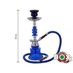 Vízipipa CHAMP AL MALIK, TAZA Egycsöves 35 cm Kék 40508036