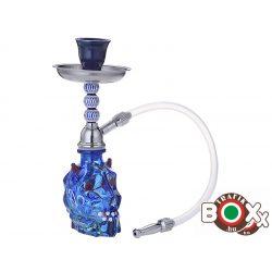 Vízipipa CHAMP AL MALIK NADOR, Egycsöves 20 cm Kék Ördög 40508041