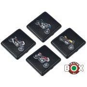 Cigarettatárca CHAMP Carbon Motoros 20 szálas 40509008