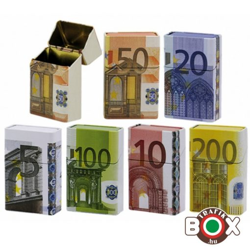 Cigarettadoboz Fém Euro 40526