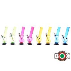 Bong Champ akril 20 cm vegyes színes 40590205
