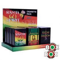 Cigarettatartó CHAMP Click box Rasta minta 40590242