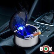Hamuzó autós fém LED-es Koponyás 40590365