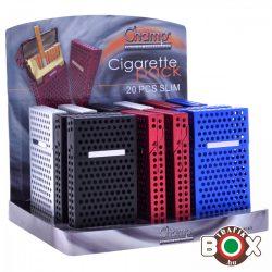 Cigarettatartó doboz CHAMP SLIM Alumágnes 20 szálas 40590523