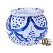Hamuzó CHAMP kerámia Kék minta 12×12 cm 40590547