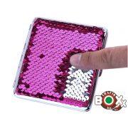 Cigarettatárca CHAMP Kaméleon színváltós Glitter 14 - 20 szálas 40590548
