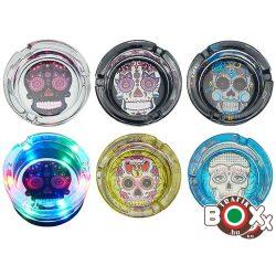 Hamuzó CHAMP LEDES üveg érintésre világít Koponyás 8,5 cm × 5 cm 40590551