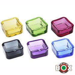 Hamuzó CHAMP üveg Színes 7,3×7,3 cm 40590565
