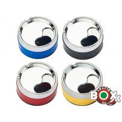 Hamuzó fém elforgatós, több színben 9,5 x 9,5 x 4,5 cm 40590580