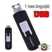Öngyújtó SM ICON ARC USB egyíves fekete 40674216-1