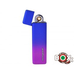 ÖNGYÚJTÓ Silver Match Eline USB-röl tölthető Mozgásra Aktiválódik 40674234
