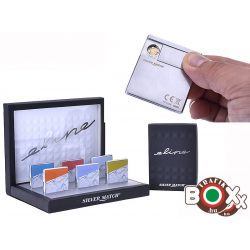 ÖNGYÚJTÓ Silver Match Eline USB-röl tölthető Ultravékony 40674239