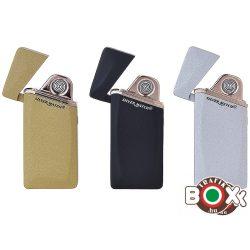 ÖNGYÚJTÓ Silver Match Eline USB-röl tölthető 40674265