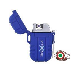 Öngyújtó Silver Match ICON ARC USB-röl tölthető Vízálló Dupla íves XTREME Blue 40674267