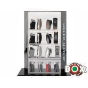 Silver Match 16db-os Exclusive Zárható Gyújtó Display 40680100