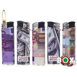 Öngyújtó PROF elektromos Euro, Dollár 41804473