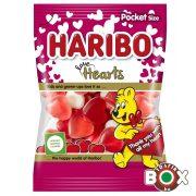 HARIBO VALENTIN Love Hearts Gumicukor Szívek Meggy ízű 100 g