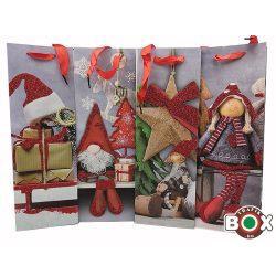 Dísztasak italos Karácsonyi Manócska Glitteres 487249