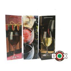 Dísztasak ital Boros Red Wine  36×12×9 cm 488036