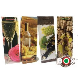 Dísztasak ital Boros White Wine  36×12×9 cm 488037