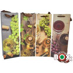 Dísztasak italos Boros-szőlő 36x12,8x9 mm 488054