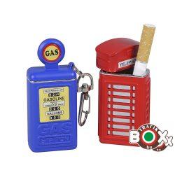 Zsebhamuzó Telefonfülke, Benzinkút Kulcstartós 515029