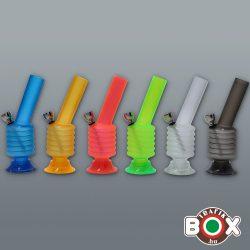 Bong Acrylbong Vegyes színes 16 cm 52945