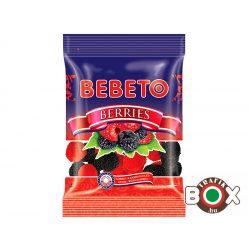 Bebeto Gumicukor Berries 70g ( málna és szeder ízű )
