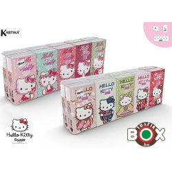 Hello Kitty papírzsebkendő Sanrio 4 rétegű 10 x 9 db