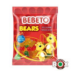 Bebeto Gumicukor Funny Bears 80g ( vegyes gyümölcs ízű )