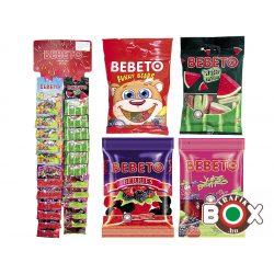 Bebeto Gumicukor Akasztós vegyes választék 1.  24×35g (Funny Bears, Watermelon, Berries, Juicy Berries)