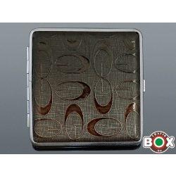 Cigarettatárca 20 szálas Barna mintás 60084