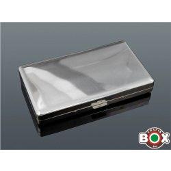 Cigarettatárca slim Fém Gravírozható 20 szálas 60185