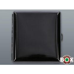 Cigarettatárca Prémium Black Mirror 20 szálas Fém lefogatóval 60188