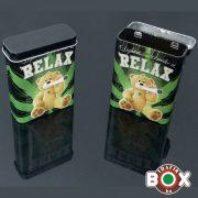 Cigarettadoboz Fém Relax 60511