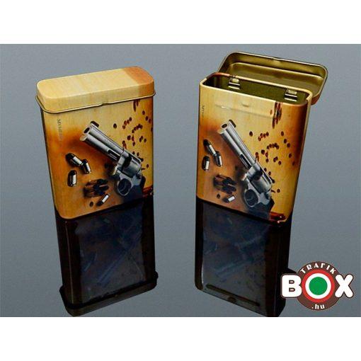 Cigarettadoboz fém Hatlövetű 60517