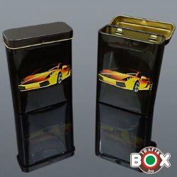 Cigarettadoboz fém Sportautó 60518