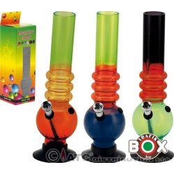 Bong Acrylbong Vegyes színes, 26 cm 67026