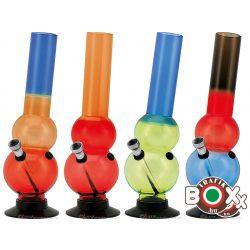 Bong Acrylbong Vegyes színes 26 cm 67031