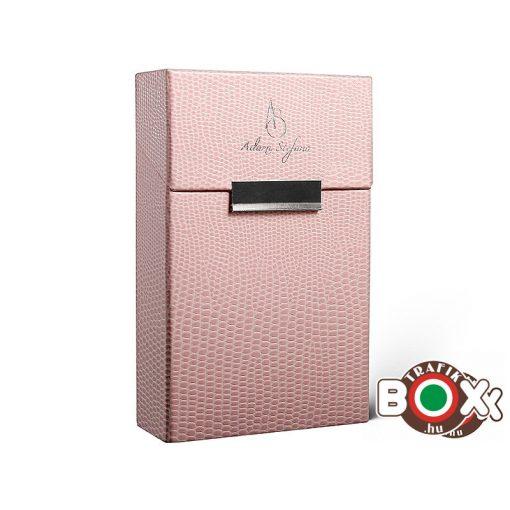 Adami Stefano Cigarettatartó doboz 80 M Lizard pink