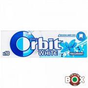Orbit White Drazsé Freshmint 10 db-os