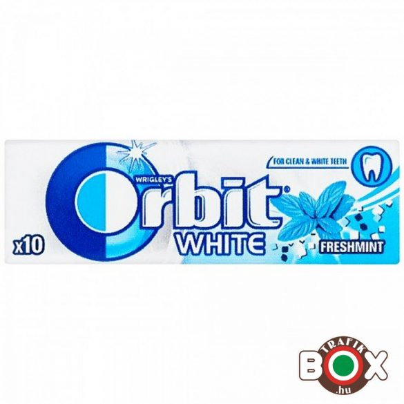 Orbit White Drazsé Freshmint 10 db-os