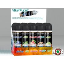 Silver Cig Prémium liquid BOX 50 ml × 15 db vegyesen