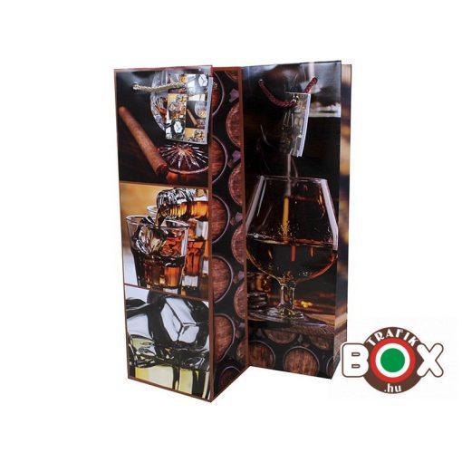 Dísztasak italos Cognac 102x330x90 mm HKS-0086