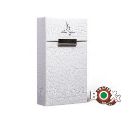 Adami Stefano Cigarettatartó doboz 100-as ML Leather - white